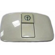 Крышка бачка Бейсик (Basic) с клавишей, белая Артикул: ST-17-11, 1929900283