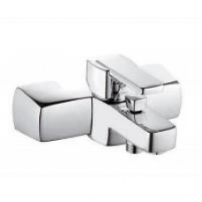 Смеситель Kludi для ванны Q-BEO, однорычажный, настенный (хром) 504430565