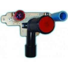 HL35 Сифонное колено с выходом DN40/50, c монтажной плитой HL44