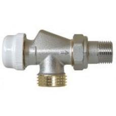 """Клапан прямой для подключений радиатора 15 VALTEC euroconus 1/2"""" Vt.180"""