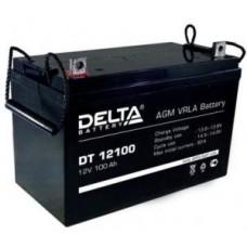Аккумуляторная батарея Delta DT 12100  100 А*ч  12 В DT 12100
