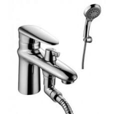 """""""Статус"""" Смеситель на борт ванны, с коротким изливом, с аксессуарами, хром LM4415C"""