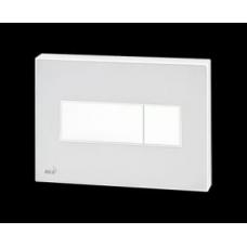 Кнопка управления с цветной пластиной (Белый) - светящиеся (Белый)  M1470-AEZ110