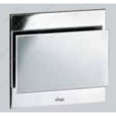 Кнопка смыва Visign for More102 черная,стекло,механическая 598990