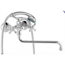 """Смеситель """"Treff"""" ванны-душа, излив 300 мм, хром  603_Treff"""