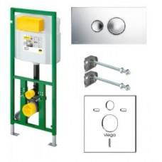 Модуль Eco Plus 'комплект' для унитаза 1130мм,модуль 606 664, кнопка 596 323, наст.крепеж 460 440 660321