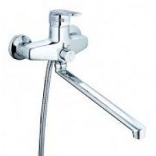 смеситель G-lauf для ванны с плоским пов. изливом (Lt), 40 встр.перекл. LWZ7-A182
