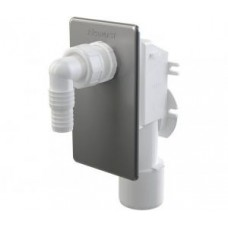 Сифон для стиральной машины Alcaplast, нержавеющая сталь, арт. APS3P