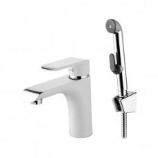 Смеситель для умывальника с гигиеническим душем, Calipso, IDDIS, CALSB00i08