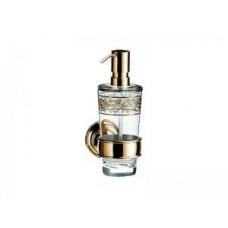 Дозатор жидкого мыла,Emco Classic, 184х125х65мм,настенный монтаж,цвет хром/золото арт.042120702