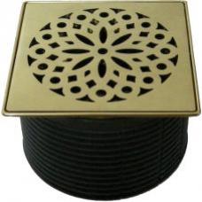 HL3928 Надставной элемент с решеткой Hamam (нержавеющая сталь/покрытие латунь)