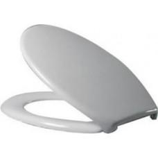 """Сиденье """"Коста Пюр"""" дюропласт, стальное крепление, с микролифтом, белый 94S101I0101Y"""