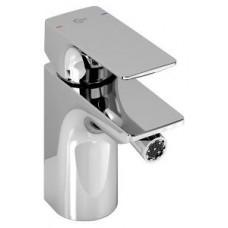 """""""Страда"""" смеситель для биде однорукоятковый с металлическим донным клапаном, гибкая подводка 3/8, хром A5845AA"""