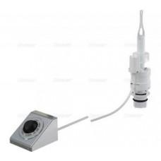 Кнопка пневматического смыва на расстоянии – ножное управление, металл, монтаж: в стену MPO13