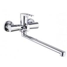 смеситель G-lauf для ванны с плоским пов. изливом, 35, встр. переключение NUD7-A045