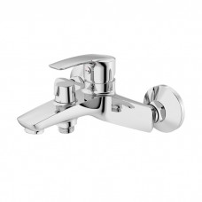 Смеситель для ванны с керамическим дивертором, Ray, Iddis, RAYSB02i02WA