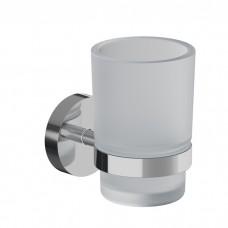 Подстаканник одинарный, матовое стекло, сплав металлов, Sena, IDDIS, SENSSG1i45