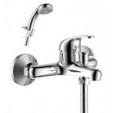 Смеситель одноручный (35 мм) для ванны с коротким изливом, хром Y35-31
