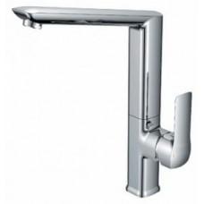 Смеситель одноручный (35 мм)  для кухни с высоким поворотным изливом, хром Z35-26U