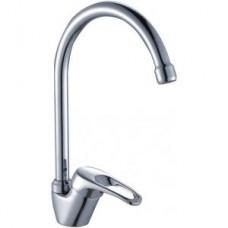 Смеситель одноручный (35 мм) для кухни, с высоким поворотным изливом 180 мм, хром B35-23