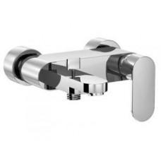 Смеситель для ванны, настенный монтаж, однорычажный, автоматическое переключение душ/ванна, с керамическим картриджем, цвет хром Арт. 1701100