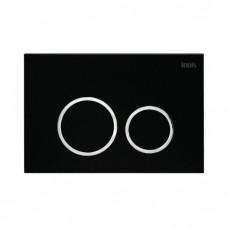 Клавиша смыва, универсальная, матовый черный, Unifix, 051, IDDIS, UNI51MBi77