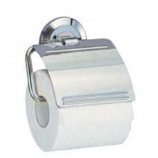 Держатель для туалетной бумаги с крышкой, хром  арт. WK6225