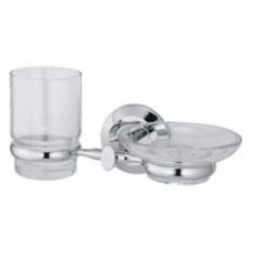 Держатель стакана и мыльницы , хром  арт. WK6226