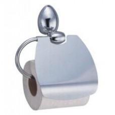 Держатель для туалетной бумаги с крышкой, хром  арт. WK8625