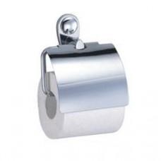 Держатель для туалетной бумаги с крышкой, хром  арт. WK9225