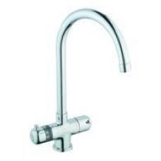 A42067EXP смеситель Aquatech для кухни с термостатом (хром)