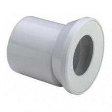 Отвод 100 белый, эксцентрик, уплотнение 103231