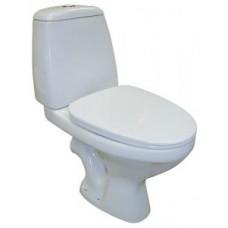 Унитаз Аниаpа, белый, с сиденьем из жестк.пластм.   Z36181-01