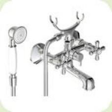 """""""Ретро-телефон"""" смеситель для ванны, короткий излив, керамический переключатель, хром BA354AA"""
