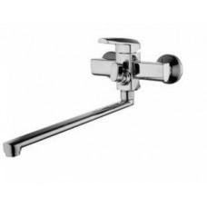 смеситель G-lauf для ванны с плоским пов. изливом, 35, встр. переключение LOF7-A033
