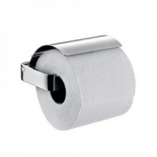 Держатель туалетной бумаги Loft, 130х138мм,с крышкой настенный монтаж,хром арт.050000100