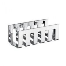 Полочка для душ/принадлежностей System 2, 200х100х65мм,прямоугольная,настенный монтаж,хром арт.354500132