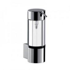 Дозатор для жидкого мыла System 2, 148х82мм,d=52мм,настенный монтаж,емкостью 80мл,колба стекло,хром арт.352100100