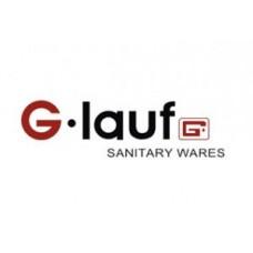 смеситель G-lauf для кух. мойки с пов. изливом, кер. (1/2) 180°, гайка (корона), белый QTZ4-D827KW