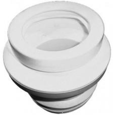 HL200 Манжета с поворотным эксцентриком для подключения унитаза к пластмассовым или чугунным трубам
