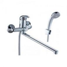 Смеситель одноручный (40 мм) для ванны, с плоским изливом C40-32