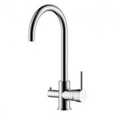 Смеситель одноручный (35 мм) для кухни c подключением к фильтру с питьевой водой, хром Z35-28