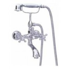 Смеситель для ванной AM-PM 5 O'Clock F2510070 Хром-Золото