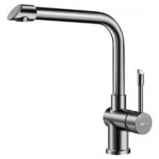 Смеситель для кухни с высоким поворотным изливом, сталь, картридж 35 мм Sedal LM5074S