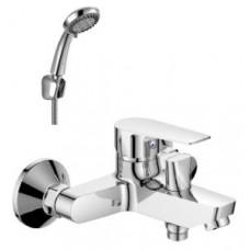 Смеситель одноручный (35 мм)  для ванны с коротким изливом, хром S35-31