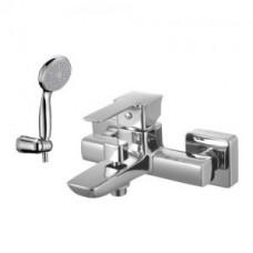 Смеситель для ванны, с коротким изливом, с аксессуарами, хром арт. LM3602C