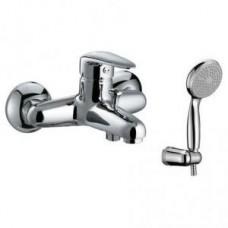 Смеситель для ванны с коротким изливом, керамич. картридж 35 мм Sedal, с аксессуарами LM3302C