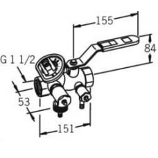 Магистральный регулирующий клапан 410040
