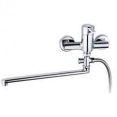 Смеситель для ванны и умывальника с душевым набором Дукал, излив 330мм 23.129.02.50