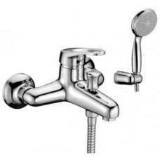 Смеситель для ванны с коротким изливом, керамич. картридж 35 мм Sedal, с аксессуарами арт. LM3102C
